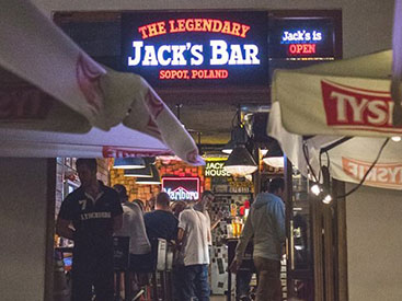 Jack's Bar Sopot. Whisky Bar